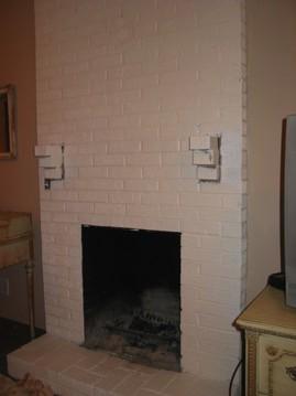 暖炉,埋め込み型暖炉,ビルトイン暖炉,ペンキ